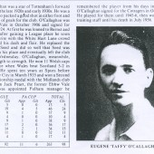 Eugene O'Callaghan Football Record.