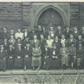 Primitive Methodists in Aubrey Terrace,meeting of The Sisterhood