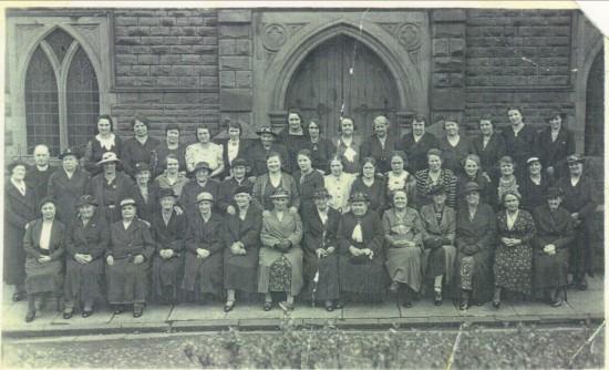 Primitive Methodists in Aubrey Terrace,meeting of The Sisterhood