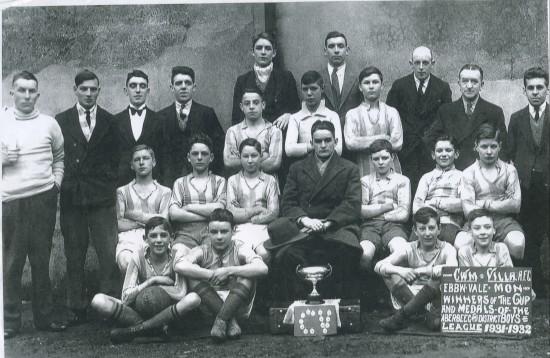 Cwm Villa Football Team 1932