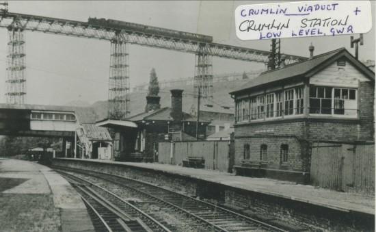 Crumlin Low Level Station,G.W.R.
