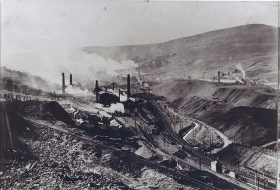 View South of Ebbw Vale Steelworks