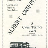 Albert Griffiths,Undertaker,Carpenter,Joiner.