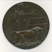 World War 1 Memorial Plaque  Walter Harris