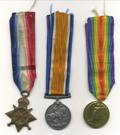 World War 1 Medals    Walter Harris