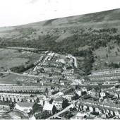 View of Cwm and Cwm Merddog.