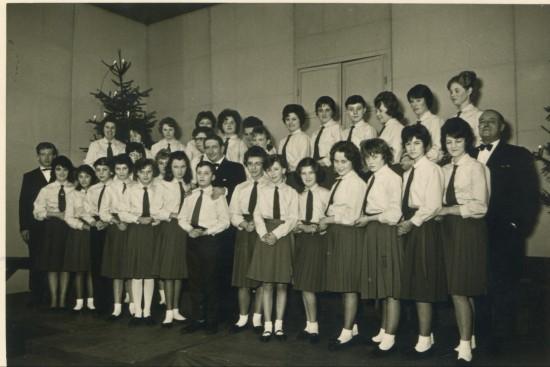 Cwm School Choir in Germany