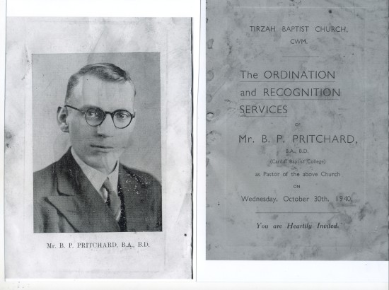 Ordination of Mr.B.P.Pritchard