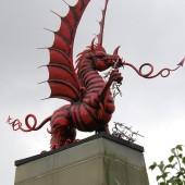 Mametz Wood, Flatiron Copse Cemetery, Welsh Dragon