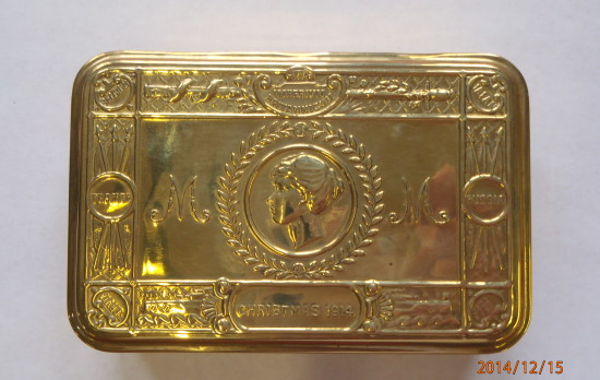 Princess Mary's Gift Box Christmas 1914