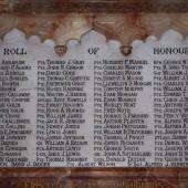 Saint Mary's (Anglican) Church WW1 Roll of Honour, Brynmawr