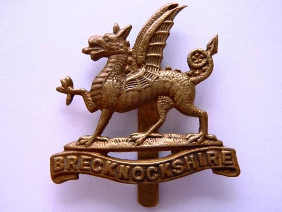 Badge of the Brecknockshire Territorials