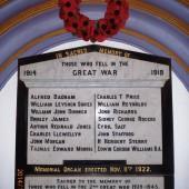 Memorial plaque at Ebenezer Baptist Church