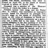 South Wales Gazette, Friday 30th April 1915