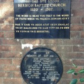 Hermon Baptist Church - site of