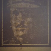 Ted Gill as pictured in South Wales Echo, 15 July 1916