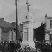 Dedication of War Memorial 30 Oct 1927