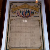 WW1 Roll of Honour, Primitive Methodist Church, Gladstone Street, Blaina
