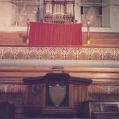 Hermon Baptist Church - interior