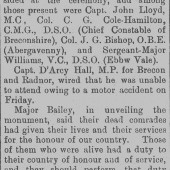 Brecon County Times 6th Nov 1927