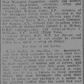 Brecon and Radnor Express 3rd Nov 1927