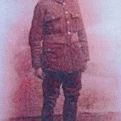 Private Ewart Huggins