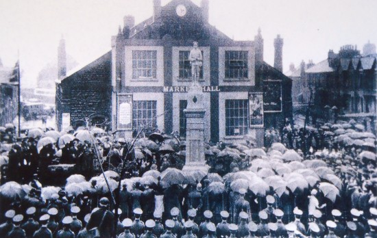 Dedication of Brynmawr War Memorial - 30th October 1927