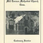 Cwm Wesleyan Methodist Church Centenary booklet cover, 1995