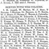 Merthyr Express 24 Sep 1921 - names only