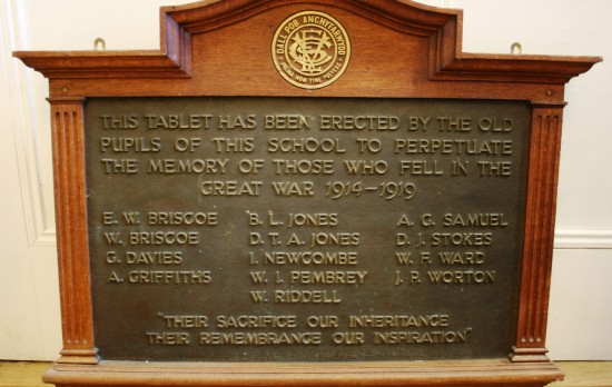 Ebbw Vale County Intermediate School Memorial