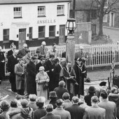 Re-dedication current site 10 May 1950