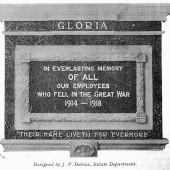 Ebbw Vale Works Memorial Plaque