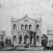 Proposed Wesleyan Chapel, Ebbw Vale, c.1861