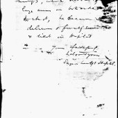 Unflattering letter relating to Gwillym's health and cause of death part 2