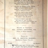 Order of Armistice Sunday Service, Ebbw Vale, 1927 (2)