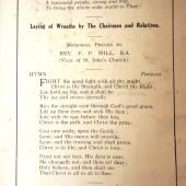Order of Armistice Sunday Service, Ebbw Vale, 1927 (3)