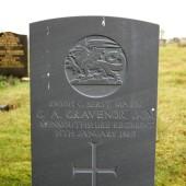 Geoffrey Alexander Gravenor, Cefn Golau cemetery, Tredegar
