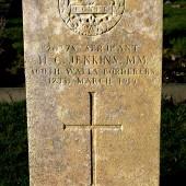 Gravestone of Herbert Clement Jenkins, Ebbw Vale Cemetery