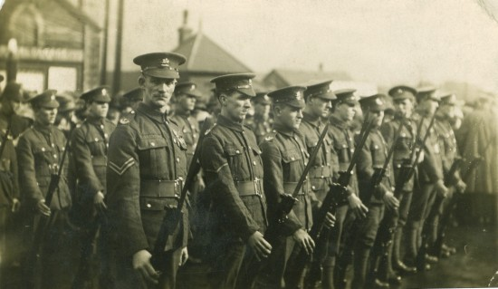 Monmouthshire Regiment at the Crossing, Ebbw Vale | Kevin Evans