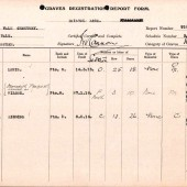 CWGC Graves Registration Report - Page 3