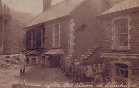 Llanhilleth after the storm