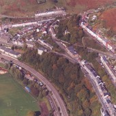 Aerial view of Llanhilleth 1