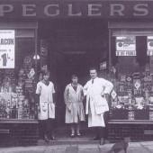 Pegler's, Commercial Road, Llanhilleth. Circa 1900.