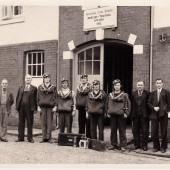 Llanhilleth Colliery Mines Rescue Team circa 1955