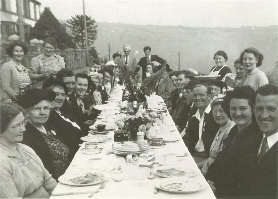 Penygraig Terrace Coronation Party 1953