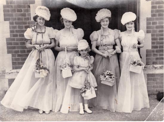 War time Bridesmaids