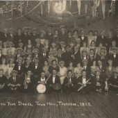 New Year Dance Town Hall TREDEGAR 1928