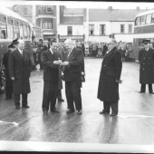 Opening the Bus Station