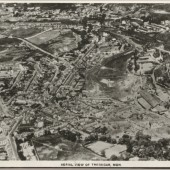 Aerial View of Tredegar, 1930s