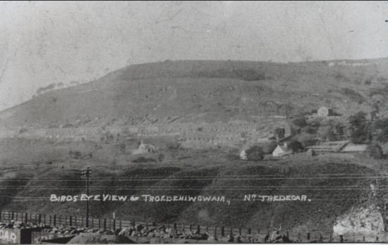 Troedrhiwgwair in about 1900